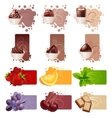 set of different colorful frames vector image vector image