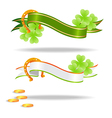 st patricks banners 2601 vector image vector image