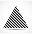 abstract triangle lines geometric shape vector image vector image