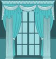 Beautiful vintage interior vector | Price: 1 Credit (USD $1)
