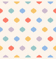 cute colorful polka dot seamless pattern funky vector image vector image