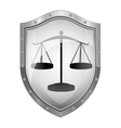 Justice balance law vector image vector image