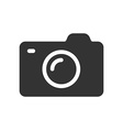 Photo camera icon Symbol or sign of camera vector image