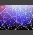 purple lilac pink geometric background with mesh vector image