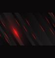 red light with black metallic slash geometric vector image vector image