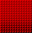 Red triangle polygon seamless pattern background vector image vector image