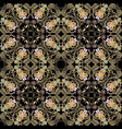 seamless floral paisley pattern colorful vector image vector image