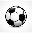 soccer ball icon design vector image vector image
