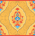 traditional islamic floral ornament vector image vector image