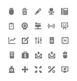 Business and Office Icons 5 vector image vector image