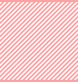 diagonal pink lines on white background abstract vector image vector image