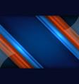 dots stripe blue color vector image vector image