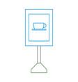 information road sign design vector image