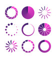 isolated loading icon vector image vector image