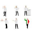 set chefs vector image