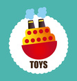 toys graphic vector image vector image
