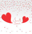 Valentines day greetings vector image vector image