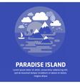 ParadiseIsland02 vector image