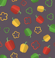 A set of Vegetables Patterns in a Flat Style - vector image