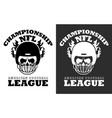 american football nfl championship vector image vector image