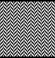 black and white vintage zig zag seamless pattern vector image vector image