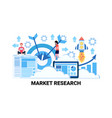 business people brainstorming market research vector image vector image