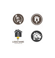 cleaning icon logo vector image vector image