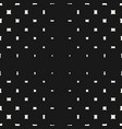 geometric halftone pattern with rounded squares vector image vector image
