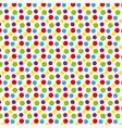 holiday scrap card with polka dot and frame vector image vector image