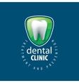logo dentistry vector image
