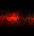 red brown black random sizes low poly background vector image vector image