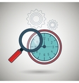 search compass geography icon vector image