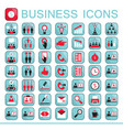 set of web icons for business finance vector image vector image