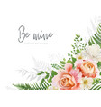 wedding invite invitation greeting card design vector image vector image