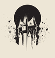 witch castle vector image