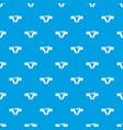 bikini pattern seamless blue vector image vector image