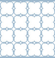 blue and white ornamental seamless pattern with vector image vector image