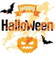 happy halloween abstract vector image