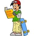 Skateboard Tricks vector image vector image