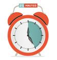 Twenty Five Minutes Stop Watch - Alarm Clock vector image vector image