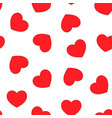 valentines day pattern seamless vector image vector image