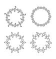 swirl frames vector image
