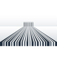 Abstract Barcode Background vector image