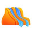 aquapark tools icon cartoon style vector image vector image