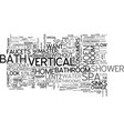 bathrooms that make you go ahhh text word cloud vector image vector image