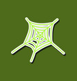 cobweb icon outline of cobweb icon for web vector image