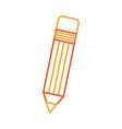 pencil school isolated icon vector image vector image
