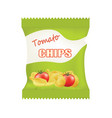 potato chips bag vector image