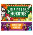 day dead dia de los muertos catrina calavera vector image vector image