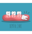 dental care design vector image vector image